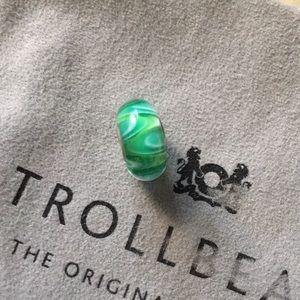 Trollbead Universal Core Unique Glass Bead